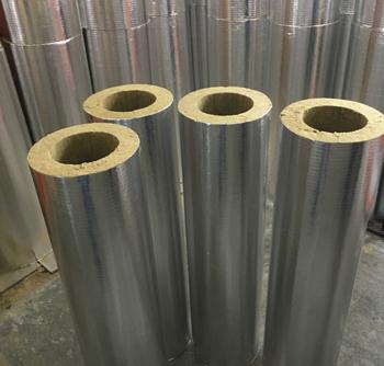 Из чего изготавливаются цилиндры теплоизоляционные, кашированные алюминиевой фольгой?